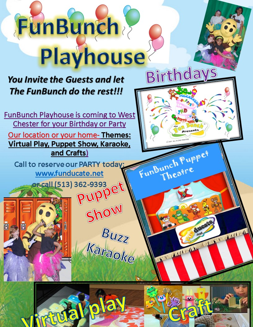 image for FunBunch Playhouse Grand Opening