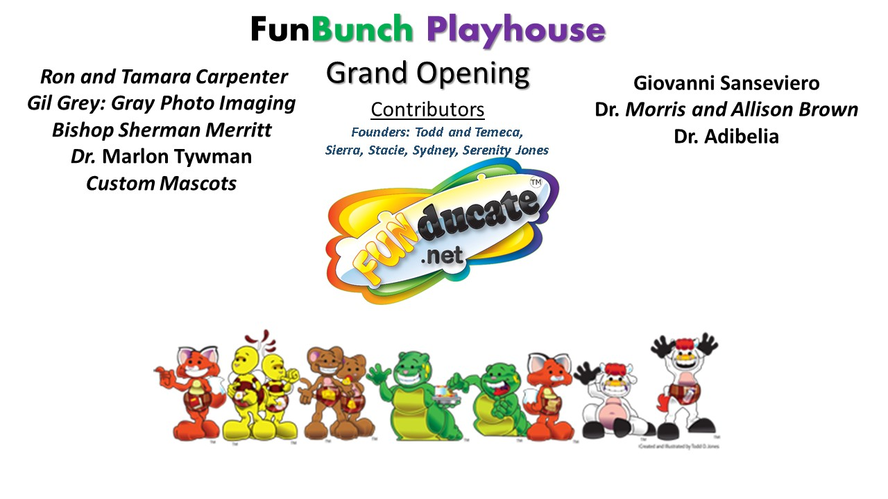 image for FunBunch Playhouse Sponsors